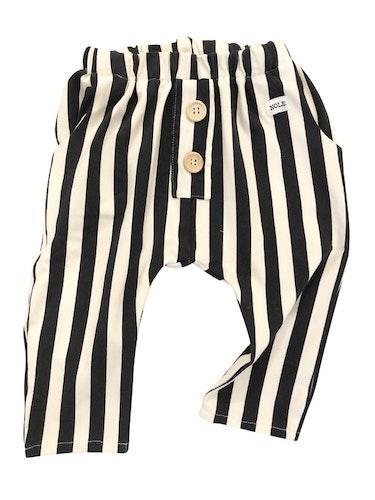 Lounge pants randen svart