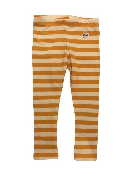 Leggings randen orange
