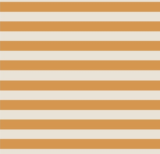 Hårband randen orange