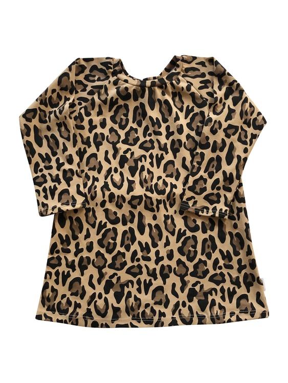 Klänning Leoparden
