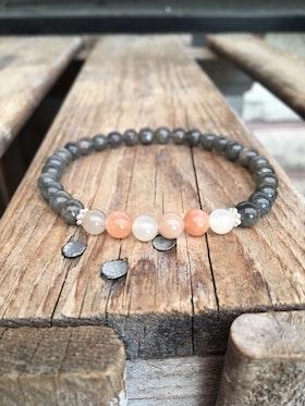 Armband – Labradorit & månsten