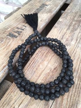 Långt halsband – Lava