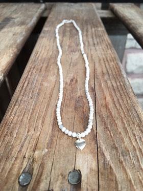 Kort halsband/armband – Howlit & hjärta