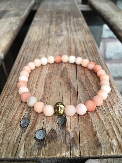 Armband – Aventurin & Buddha