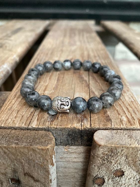Armband – Larvikit & buddha