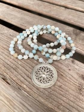 Långt halsband – Amazonit