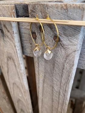 Örhängen – Bergkristall