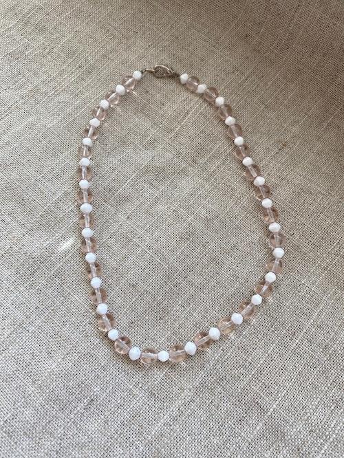 FYND – Kort halsband med glaspärlor, nr1