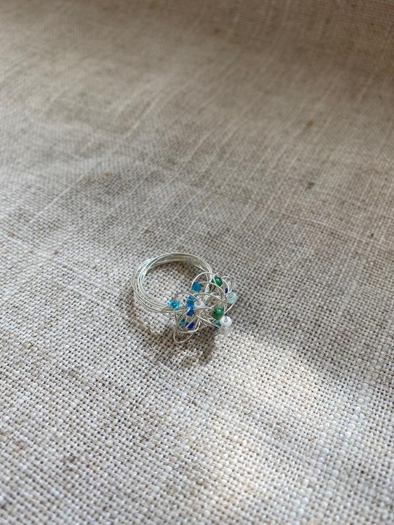 FYND – Ring, silvertrassel