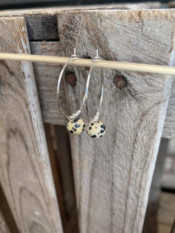 Örhängen – Dalmatinerjaspis