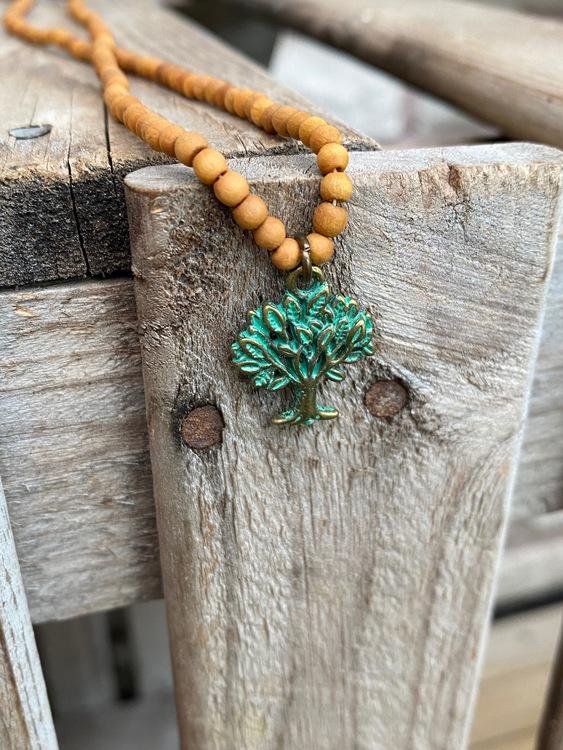 Kort halsband – Livets träd
