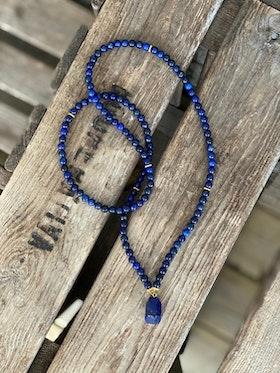 Långt halsband – Lapis