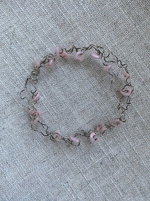 FYND – Armband, silvertrassel