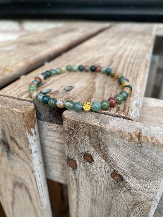 Armband – Indisk agat