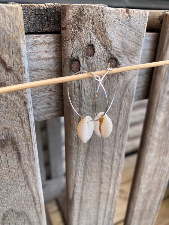 Örhängen – Snäckor, silver