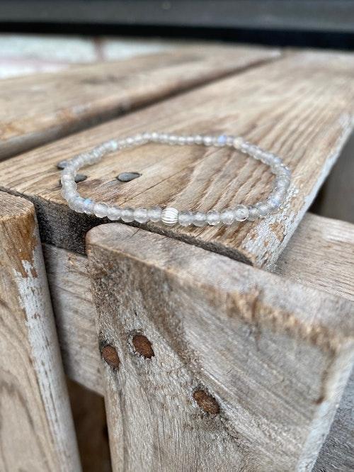 Armband – Facetterad labradorit
