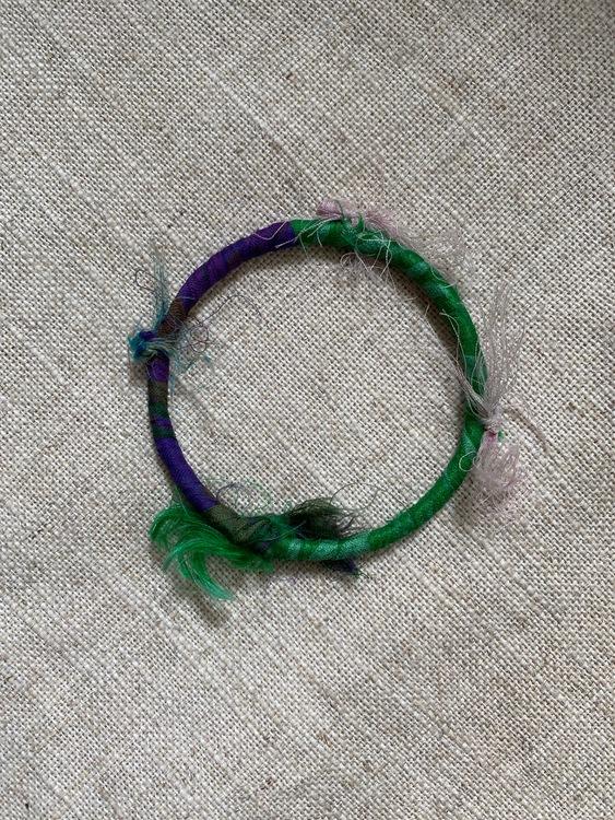 FYND – Armband, lila/grön