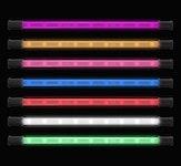 "Lightz 4x9"" LED-interiörbelysning, Lila färg"