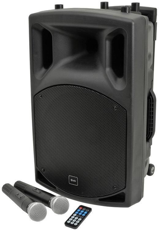 QTX QX15PA Portabelt PA med Bluetooth