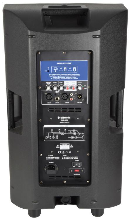 Citronic CAB15L BT-LINK - 1400W