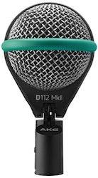 AKG D112 MkII, dyn basmikrofon, integrerad hållare