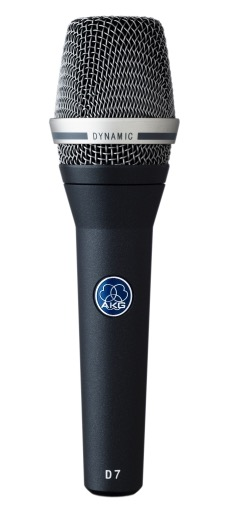AKG D7, Reference Dynamic Vocal Microphone