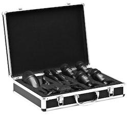 AKG Drumset Session 1, 1x P2, 2x P17, 4x P4 hållare och väska