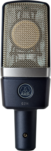 AKG C214, recording microphone
