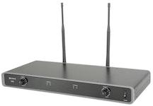 Chord NU2 Dubbelt Bodypacksystem - Frekvens: 863.3 MHz + 864.3MHz