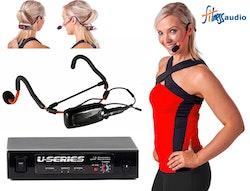 Fitness Audio Aeromic E-Mic MT-U8 Komplett system