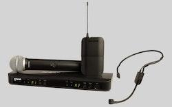 Shure BLX1288E/PGA31 Trådlöst sång + headsetsystem