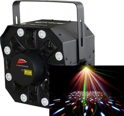 JB Systems LED Invader 3-in-1