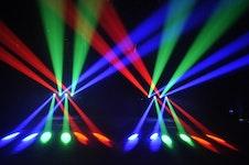 JB Systems LED Super Quadra Beam