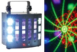 QTX  SURGE 4-in-1 LED + Laser-Effekt