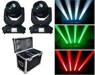 TC Light 2 x Beam 2R + Case