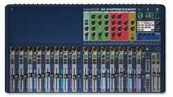 Soundcraft Si Expression 3, 66 ingång till mix, 20 Aux bus, 4 MTX, 4 FX, 32 reglar