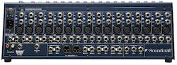 Soundcraft FX16II, 16-mono, 2 subgrp, 4 Aux, inbyggd Lexicon FX