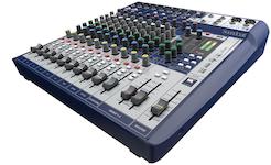 Soundcraft Signature 12, 12-kanals mixer m FX, USB 2/2