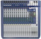 Soundcraft Signature 16, 16-kanals mixer m FX, USB 2/2
