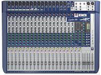 Soundcraft Signature 22, 22-kanals mixer m FX, USB 2/2