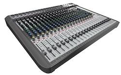 Soundcraft Signature 22MTK, 22-kanals mixer m FX, USB 24/22 Multi-Track