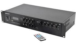 Adastra A2 Stereo PA-Förstärkare + BT, 400 Watt RMS