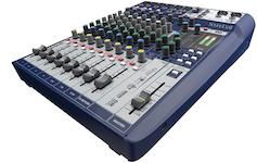 Soundcraft Signature 10, 10-kanals mixer m FX, USB 2/2