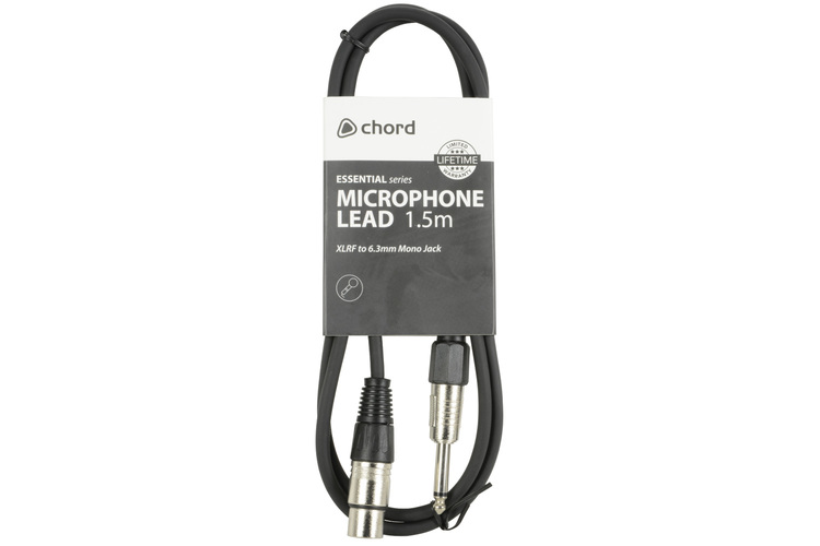 Chord XLR F - Tele M 1.5m eko