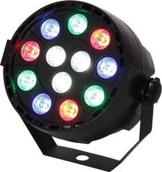 Ibiza Light PARBAT-RGBW - 12W med batteri