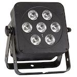JB Systems LED Plano Spot 7FC-BLACK