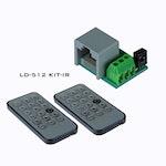 Briteq LD-512KIT-IR  - IR-Styrning för LD-Serien