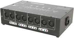 QTX DMX-D8 DMX Splitter 8-vägs