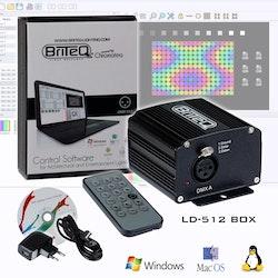 Briteq LD-512BOX Styrs via dator eller IR