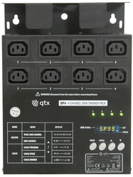 QTX DP4 4 channel DMX dimmer